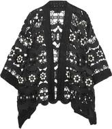 Anna Sui Daisy Swirl guipure lace jacket