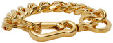 Martine Ali SSENSE Exclusive Gold Cuban Link Bracelet
