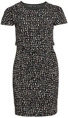 NIC+ZOE, Plus Size Print Sheath Dress