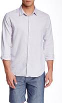 Save Khaki Simple Oxford Long Sleeve Classic Fit Shirt