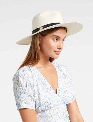 Ever New Sammy Chain Trim Fedora Hat