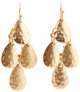 Jones New York Small Hammered Chandelier Earring