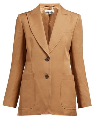 Bella Freud Monte Carlo Single-breasted Blazer - Womens - Camel