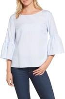 Vineyard Vines Women's Stripe Bell Sleeve Top