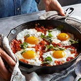 Lodge Cast-Iron Round Fry Pan