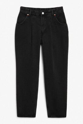 Monki Maja washed black jeans