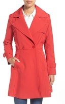 Trina Turk Women's 'Phoebe' Double Breasted Trench Coat