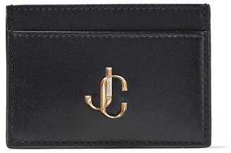 Jimmy Choo UMIKA Black Calf Leather Card Holder
