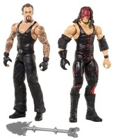 WWE Undertaker and Kane Action Figure 2-Pack