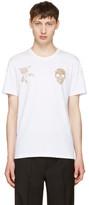 Alexander McQueen White Bullion T-Shirt