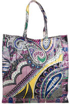 Etro Patent Leather Tote