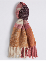M&S Collection Tassel Blanket Scarf