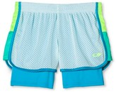 Girls' 2 in 1 Mesh Shorts Ice Fall Blue - C9 Champion®