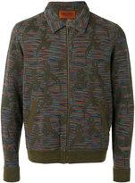 Missoni knit bomber jacket