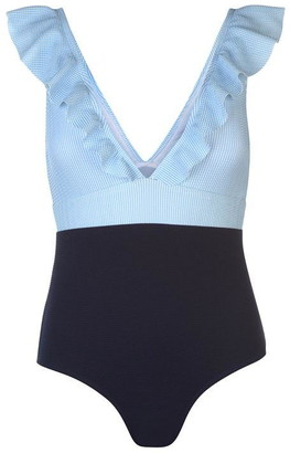 Soul Cal Soulcal SoulCal Frill Swimsuit Ladies