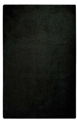 Braun Rosdorf Park Hand-Tufted Coal Black Area Rug Rosdorf Park Rug Size: Rectangle 8' x 11'