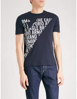 Emporio Armani Logo-print Cotton-jersey T-shirt