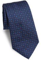 Armani Collezioni Diamond Patterned Silk Tie