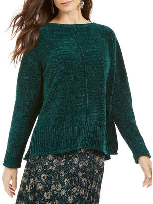 Style&Co. Style & Co. Long-Sleeve Chenille Sweater