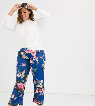 Koko Flare Trousers in floral print