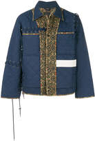 Craig Green quilted panelled jacket