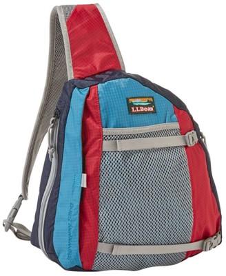 L.L. Bean L.L.Bean Stowaway Sling Pack, Multicolored