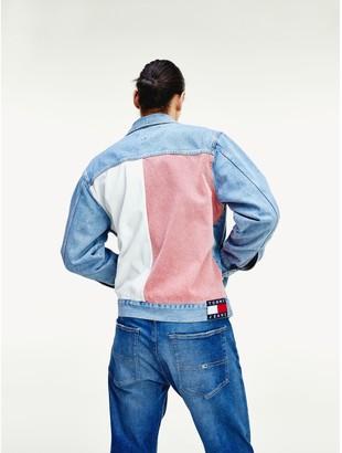 Tommy Hilfiger Contrast Back Trucker Jacket
