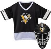 Franklin Sports Youth Franklin Pittsburgh Penguins Goalie Face Mask & Jersey Set