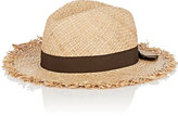 Barneys New York WOMEN'S RAW-EDGE STRAW HAT