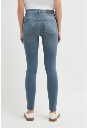 French Connection R Rebound 30' Skinny Jeans - Light Wash