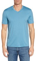Ibex Men's 'Axis' V-Neck Merino Wool Jersey T-Shirt
