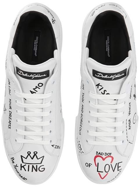 Dolce & Gabbana Hashtag Sneaker
