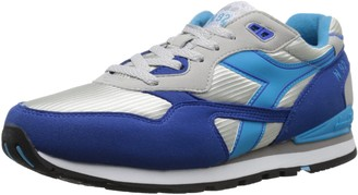 Diadora Men's N92-M Athletic Grey Alaska/Micro Blue 9 M US