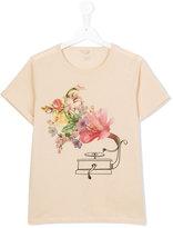 Stella McCartney floral print T-shirt - kids - Cotton - 14 yrs
