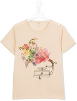 Stella McCartney floral print T-shirt