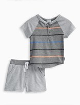 Splendid Baby Boy Stripe Tee and Short
