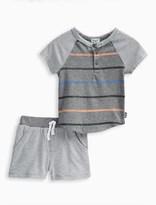 Splendid Baby Boy Stripe Tee and Short