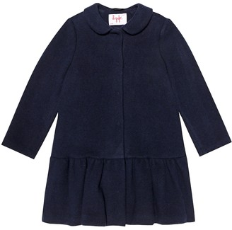 Il Gufo Cotton and wool-blend coat