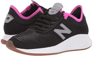 New Balance Fresh Foam Roav Fusion (Black/Steel Textile) Women's Classic Shoes
