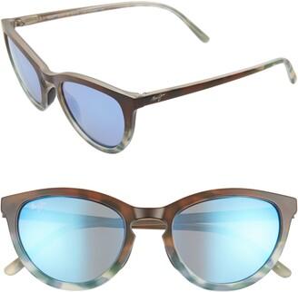 Maui Jim Star Gazing 50mm PolarizedPlus2(R) Cat Eye Sunglasses