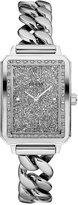 GUESS Women's Stainless Steel Chain Link Bracelet Watch 28mm U0896L1