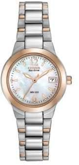 Citizen Ladies Eco-Drive Two-Tone Watch