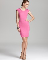 Cap Sleeve Dress - with Mesh Back