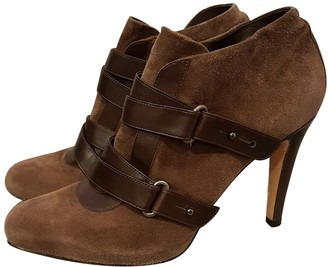 Gianvito Rossi Gianvito Brown Suede Ankle boots