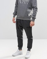G Star G-Star Powell Cuffed Sweatpant in Black