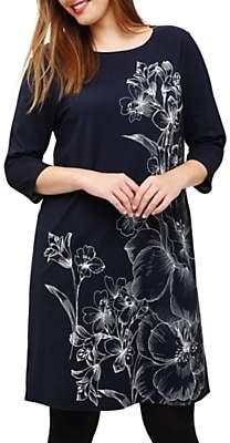 Studio 8 Aubrey Floral Dress, Navy