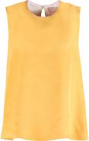 Roksanda Fuji silk-blend crepe top