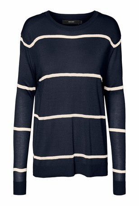 Vero Moda Women's VMLINA LS Oversize Blouse Boo Sweatshirt