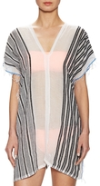 Lemlem Women's Selina Cotton Striped Split Tunic