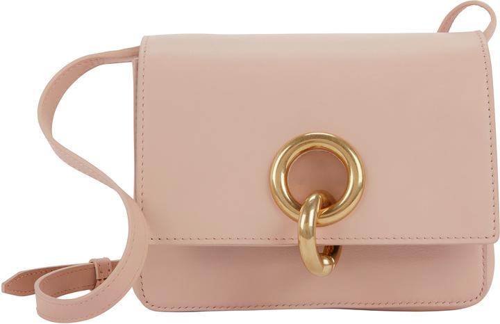 A.L.C. Charlie Mini Leather Shoulder Bag White 1SIZE